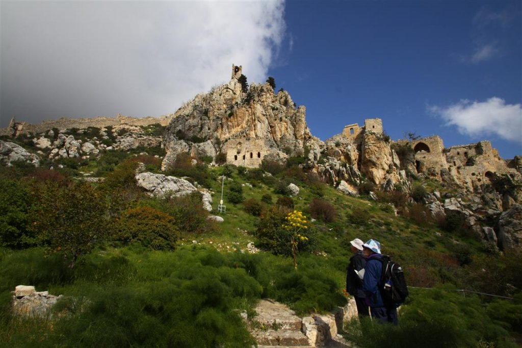 st. hilarion walking
